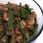 Take A Look At My Stir-Fried Shrimp Green Beans